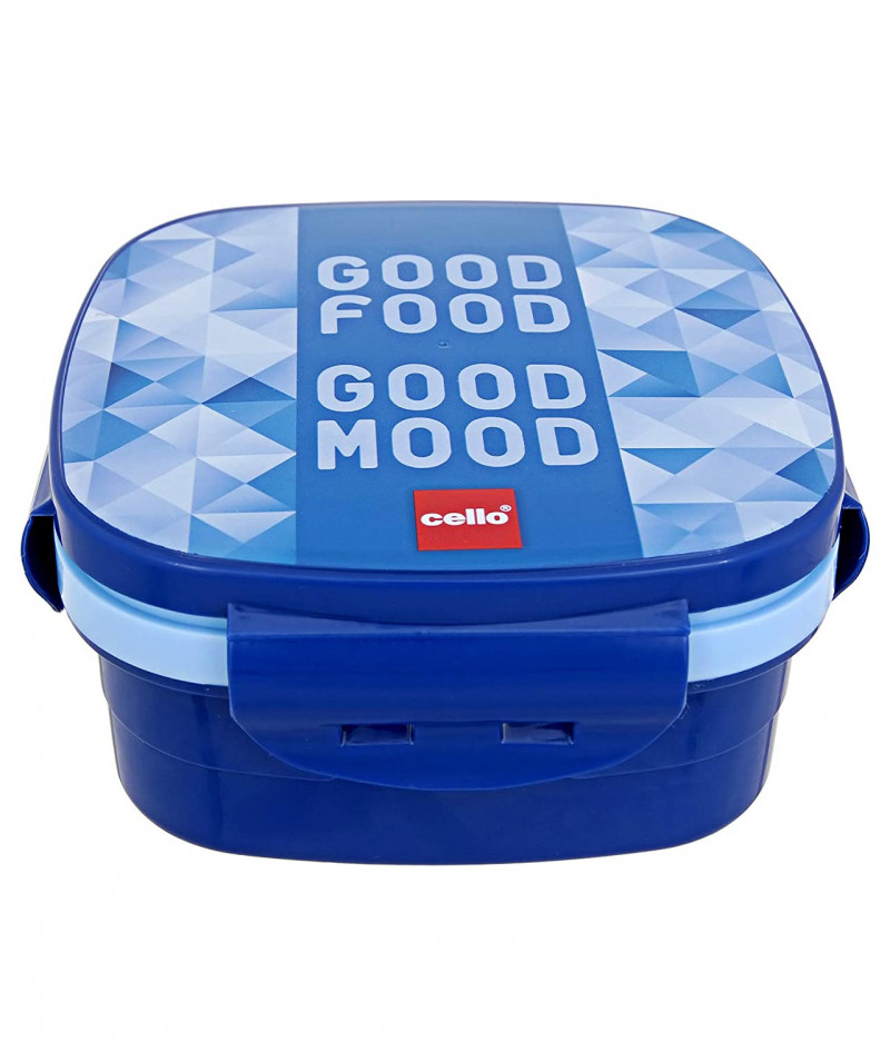 Cello Jolly Insulated Lunch Box for School/Offices Blue
